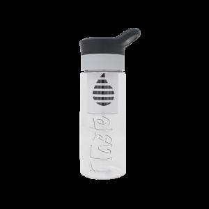 Filter Water Bottle in Black