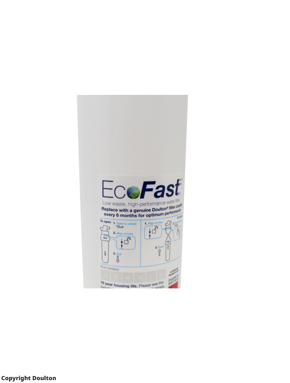Doulton EcoFast & Ultracarb Under Sink Water Filter